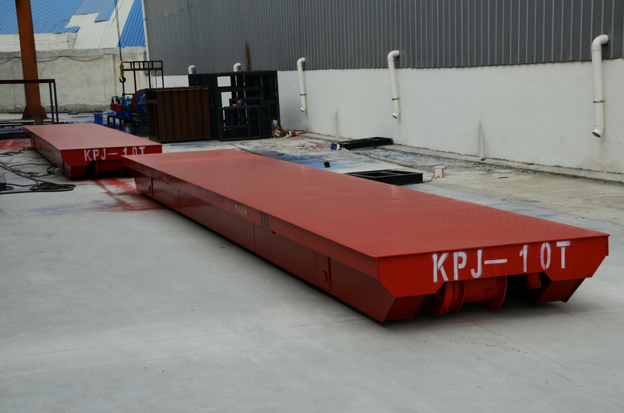 KPJ Wire Rope Transfer Cart