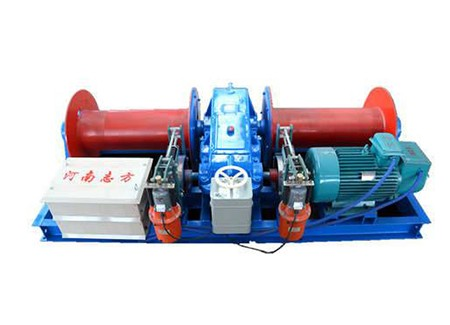 Electric Winch with Spooling System