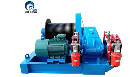 JM20T Electric Winch Exported To South Africa